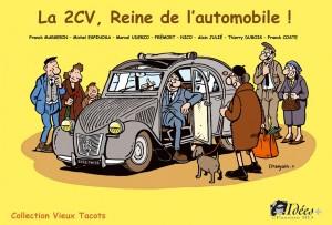 2CV reine de l'automobile - Couverture
