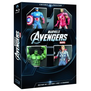 Avengers - Coffret DVD Blu-Ray Figurines