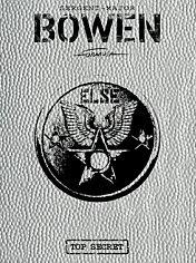 Bowen Tirage de luxe couverture Dimple Silver