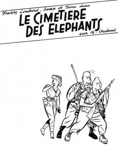 Cimetière des éléphants - tirage de luxe