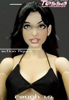 tessa action figure