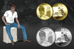 Largo Winch pièces or et argent