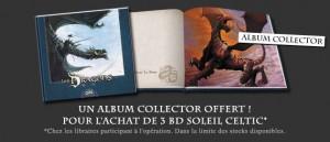 Soleil Celtic - album collector offert
