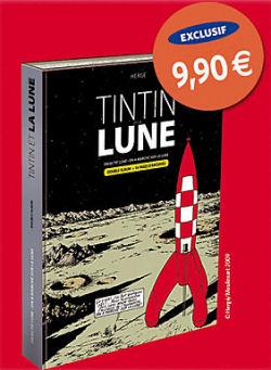 Tintin et la lune - tirage limité le monde